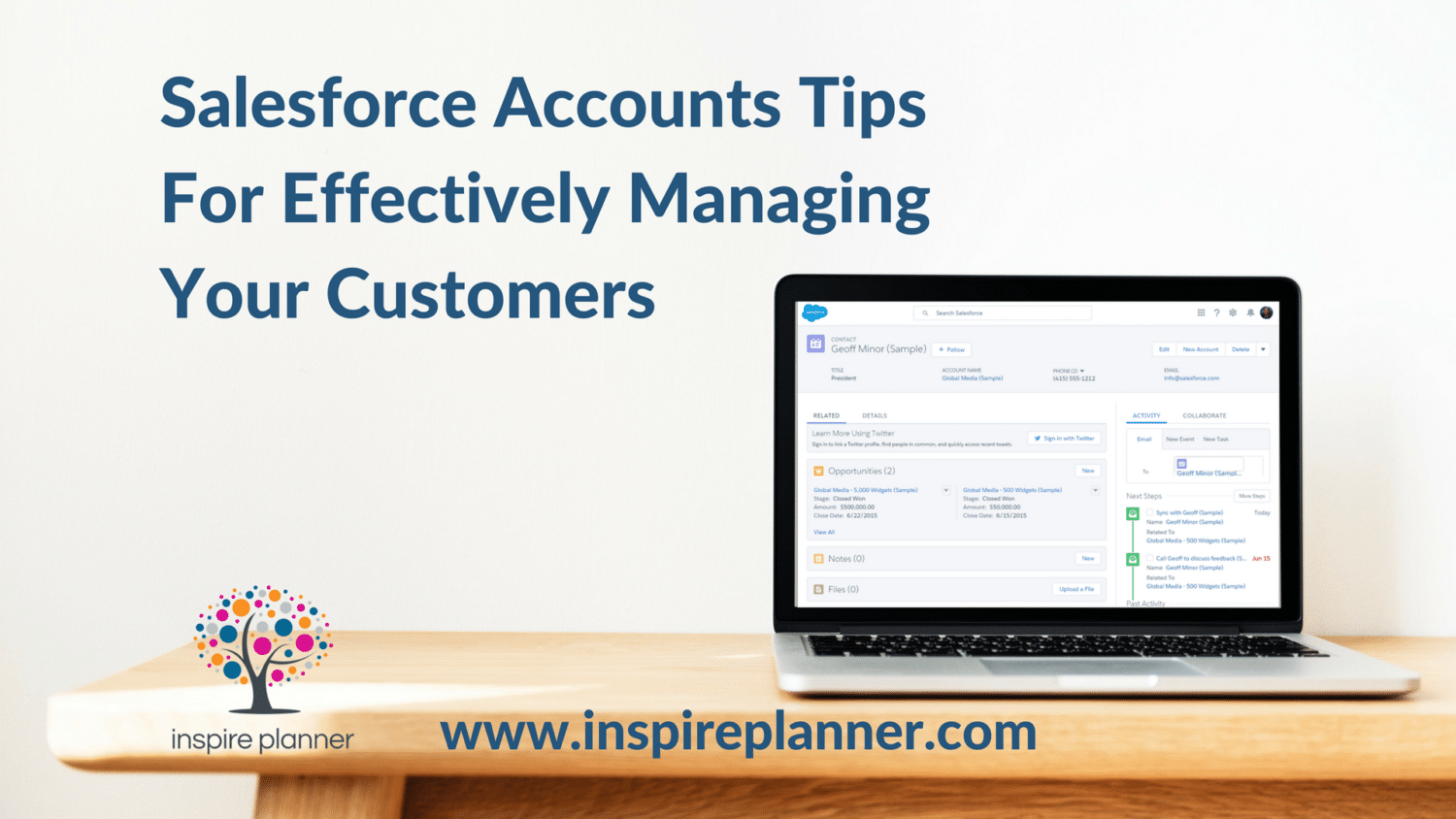 Salesforce Accounts Tips